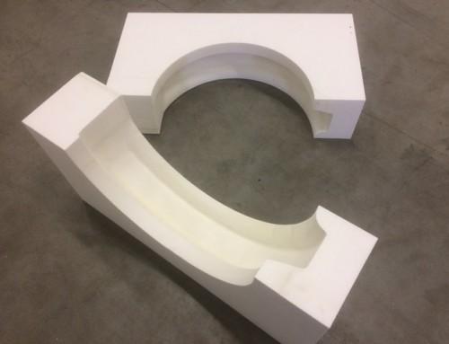 3D gefreesde betonmal