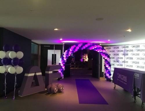 AF conferentie 2018 – Polystyreen logo en dumbbells