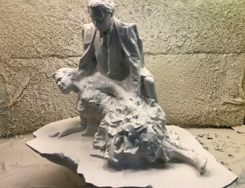 Piëta 3D PIR Polyurea kunstwerk – museum de fundatie