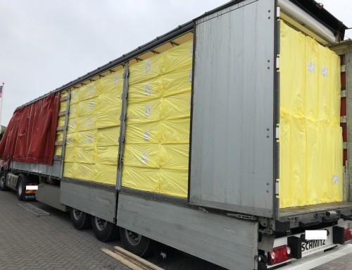XPS en EPS isolatie – volle vrachten – nieuwe en bestaande klanten – binnen en buitenland